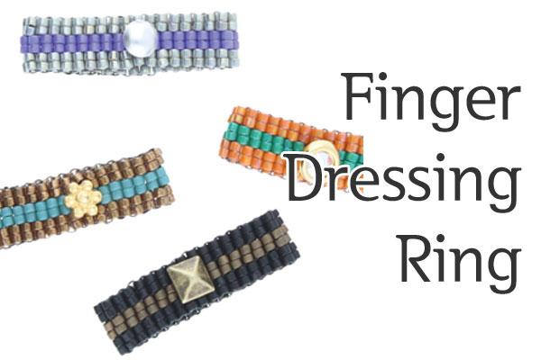 Finger Dressing Ring